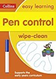 Pen Control Age 3-5 Wipe Clean Activity Book: Ideal for home learning (Collins Easy Learning Preschool)