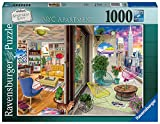 Ravensburger- NYC Apartment Puzzle 1000 Piezas – Fantasy (16545)