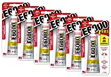 (Pack of 6) E6000 Plus 56.1 ml Crystal Clear Craft Glue No Odor Industrial Adhesive EU10570120