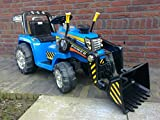 TRACTOR ELECTRICO NEW HOLLAND STYLE CON PALA Y RC