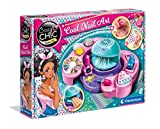 Clementoni - Crazy Chic-Cool Nails Set para uñas de niña, Multicolor, 18599