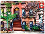 Educa - Greenwich Village, Nueva York Puzzle, 1500 Piezas, Multicolor (18502)