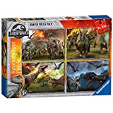 Ravensburger - Puzzle 4 in 1, Jurassic World (06976)
